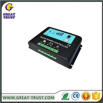 Competitive price 100% 10~30A li ion charge controller solar 72v solar charge controller with low price