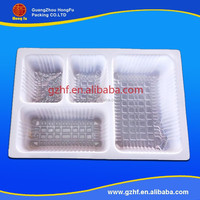 Guangzhou wholesale recyclable pet fruit packing plastic tray