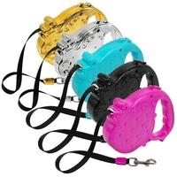 Wholesale 3M Retractable Dog Leash Expending Pet Walking Leads For SmalL & Medium Dogs