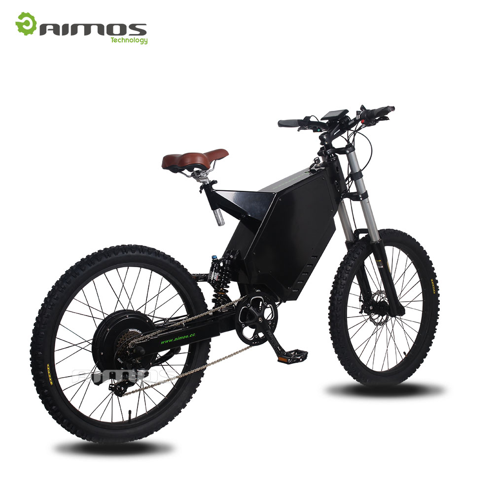 Stealth bomber 100km/h full suspension 5000w electric bike for sale