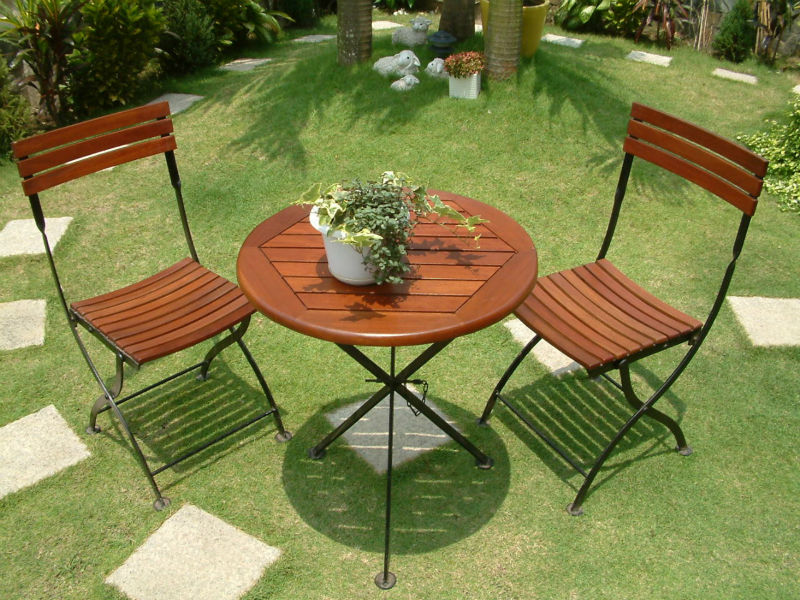 Marine Wooden Garden Furniture Bistro Set Buy Outdoor Furniture