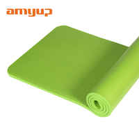 Slip resistant natural jute yoga exercise mat / fitness
