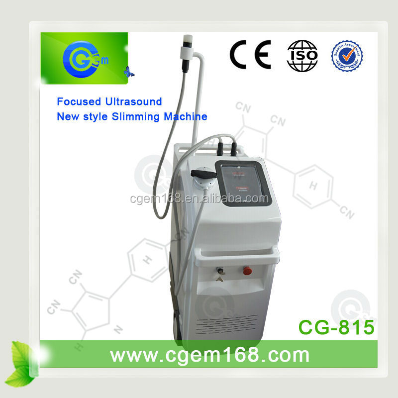 CG-815 New arrival!!! New Products for 2015 hifu cavitation slimming machine for fat reduce
