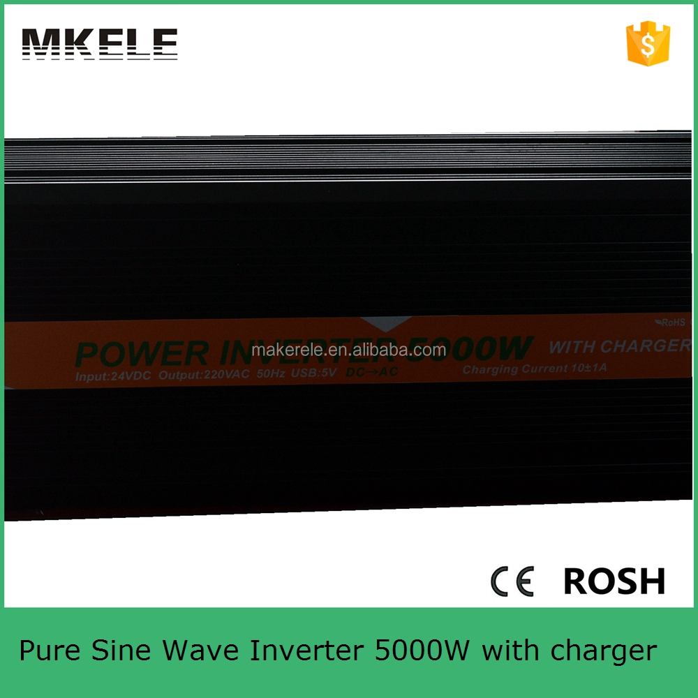 MKP6000-122B-C inverter 12v 220v 6000w pure sine wave inverter charger 6000w with power inverter cables