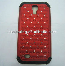 for Samsung Galaxy S4 I9500 bling bling shockproof case cover