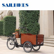 CE Approved Tricycle Cargo Bike China Factory Made