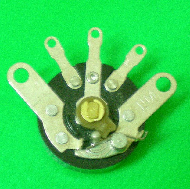 V16NS 16mm Size Micro Rotary Potentiometer with Switch