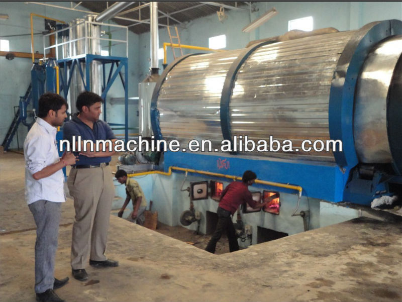 FUEL OIL EXTRACTION MACHINERY FROM WASTE TYRE