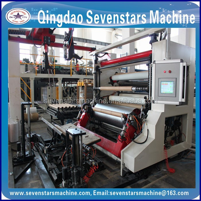 laminating film pet pe screw extruder