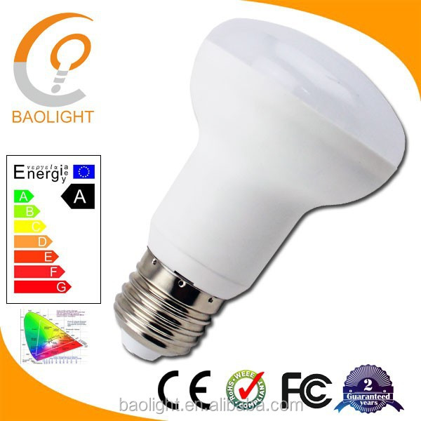 Energy-saving factory directly competitive price plastic body SMD E27 R80 LED bulb light 12W