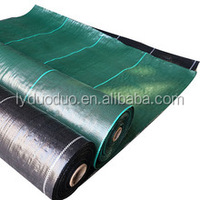 green and black weed barrier under gravel blanket manufactures