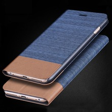 New Denim Leather Back Shell Protective Case Cover Pouch for HTC one ME X9 A9