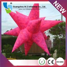 Factory Outlet Cheap Inflatable Led Inflatable Stars Light For Night Club