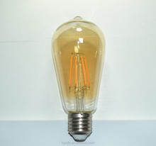 LED filament ST64 bulb 2W 4W 6W 8W edison lamp