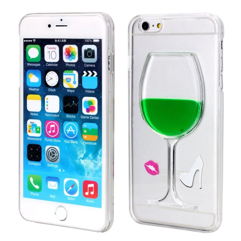 cell phone Cover soft 3D Liquid Phone Case