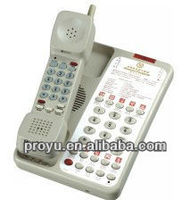 Proyu's 2.4GHz digital wireless telephone hotel phone PY-8001+10 with Calling Divert