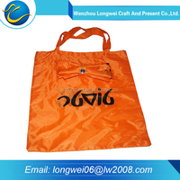 Cheap and high quality foldable shopping bag polyester