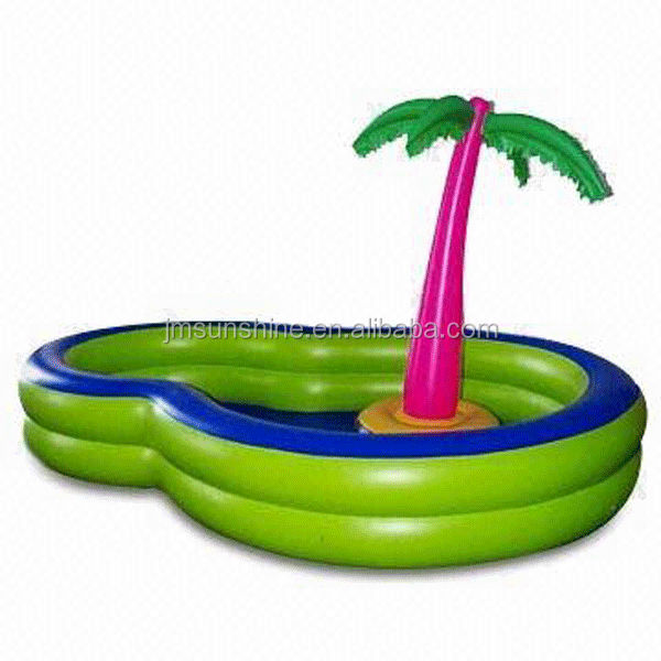 High quality and hot sale commercial Inflatable palm tree pool float