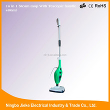 CE,GS,ROHS approved 1300W or 1500W 400ml capacity handheld multi 10 in 1 steam mop X10