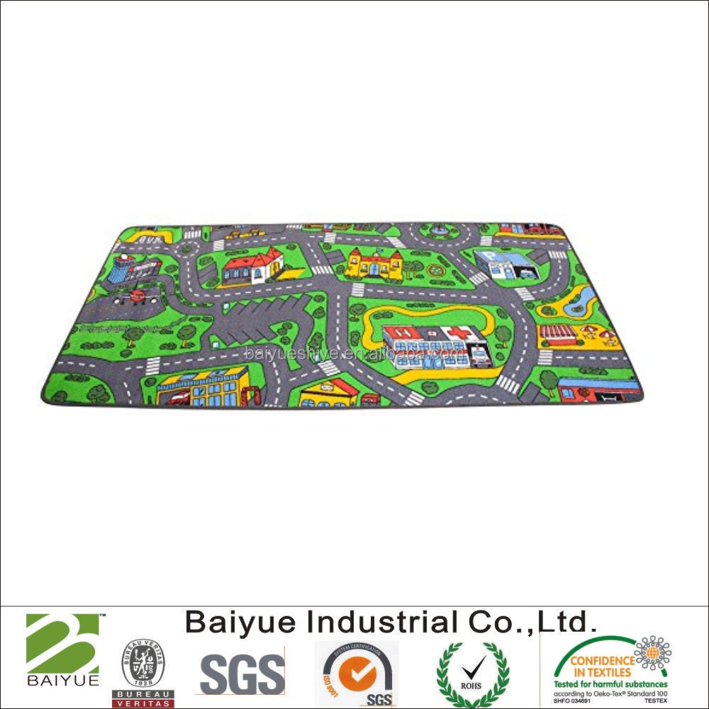 "36""x79""Learning Carpets At the Fun Fair Play Carpet Toy"