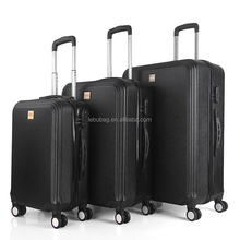 Wholesales ABS+PC Cabin Trolley Carry-on Hand Luggage 20/24/28 Trolley Case with 4x360 Wheels