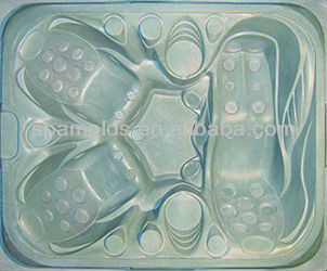the new style ourdoor vacuum spa mold with FRP for spa