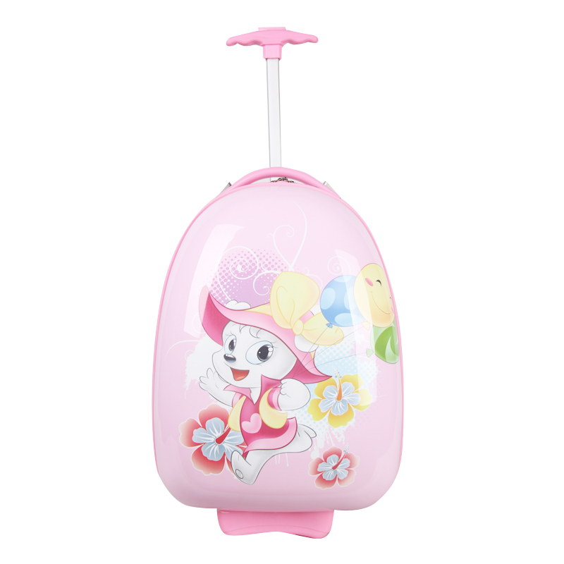 Lovely <strong>ABS</strong> And PC Online Custom Luggage Cover Childrens Luggage Trolleys