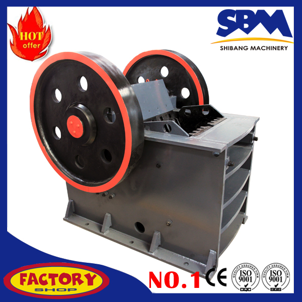 High quality 10tph pe200x300 small jaw crusher