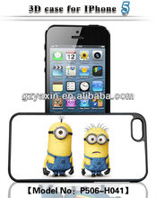 2014 newest 3d phone case for iphone 4/5/5s/5c,Cheap popular with 3D flash image case for iphone 5 case