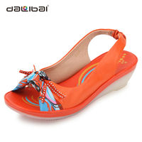 women leather fashion shoes summer sandals 2014