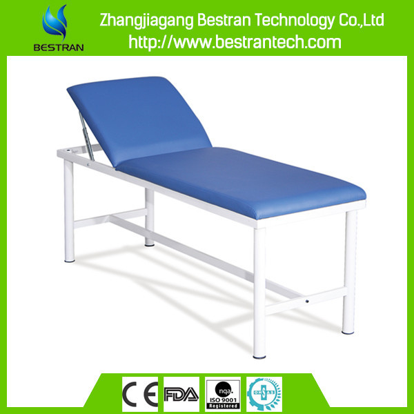 China BT-EA001 hospital medical patient examination table/exam couch with backrest lift