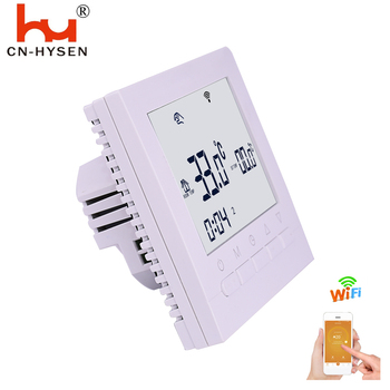 Hot Sale  Household Programmable Battery Power Gas Boiler Heating Button WiFi Thermostat