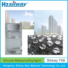 hot sales Silway 749 concrete sealer nano waterproof dampproof material with high performance