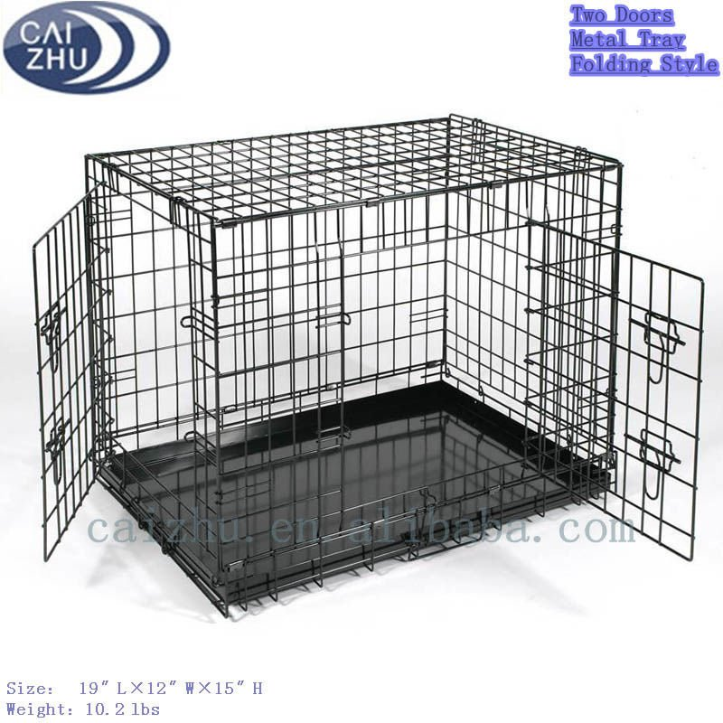 2016 Hot sale stainless steel large dog cage crates for cheap