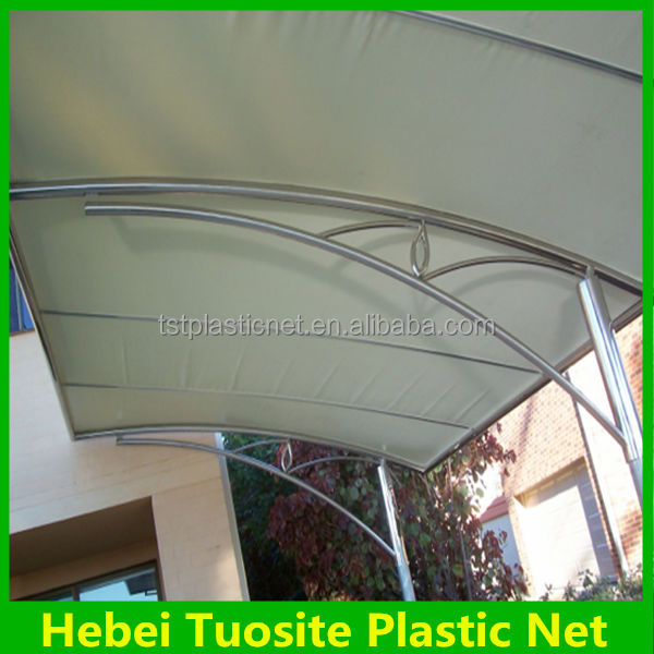 waterproof carport Shade net Cloth for commercial place