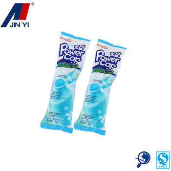 logo printed tint laminating food bag roll film