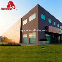 wall panels sheets PVDF aluminum plastic composite panel outdoor cladding sandwich panel