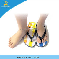 2015 lady sandal flip flop cheap wholesale slippers from china market