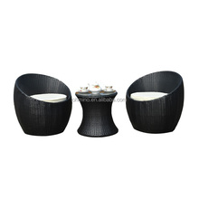rattan balcony set one person modern outdoor <strong>furniture</strong>