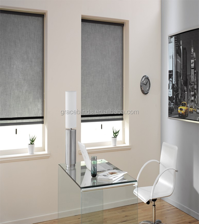 Electric motor roller blinds curtains