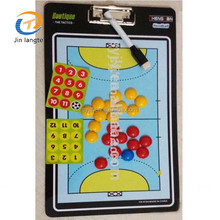Magnetic PVC volleyball basketball football tactic coach board with eraser