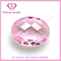 Hot Sale Oval Dual Turtle Shell Cut Glass Stones For Jewelry