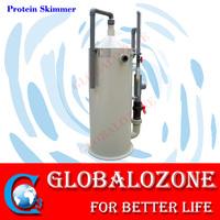Seawater/fresh water PP housing protein skimmer for aquarium fish tank water treatment