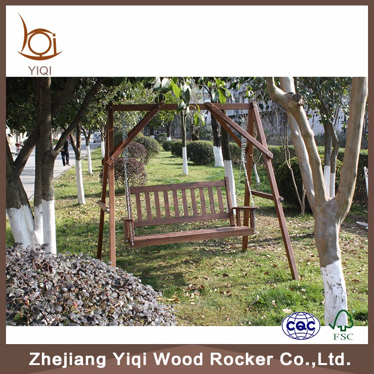 Wooden Hanging Swing Chair On Sale