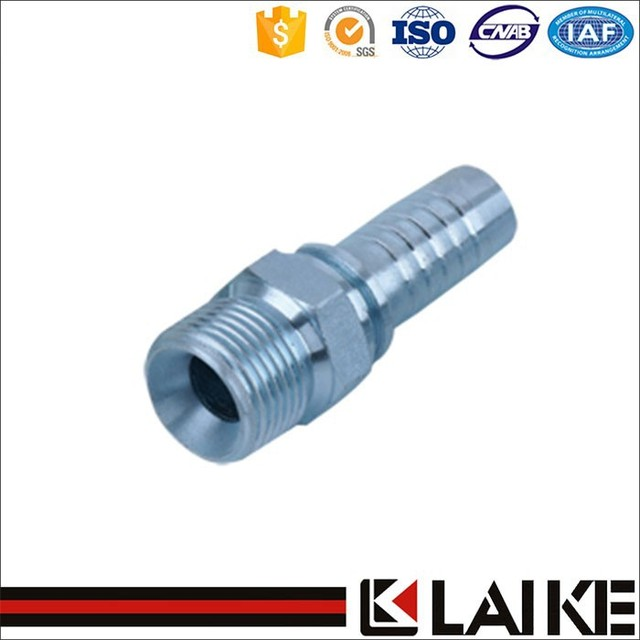 Customize service available eaton carbon steel hydraulic nipple high quality hydraulic fitting pipe