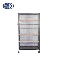 Prevue Pet Products wire mesh breeding bird cage,making factory of metal wire bird cage