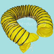 flexible fire rated duct, pvc hose pipe with portable fan