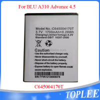 Manufacturer Mobile phone /Cell phone battery 3.7V 1700mAh C645004170T battery for BLU A30 Advance 4.5