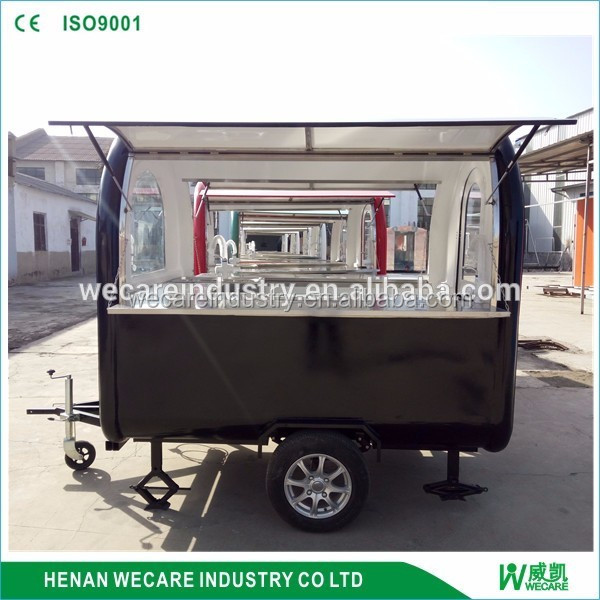 Outdoor china mobile food carts