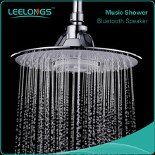 SH-3696 Easy cleaning aqua bluetooth shower head with speaker